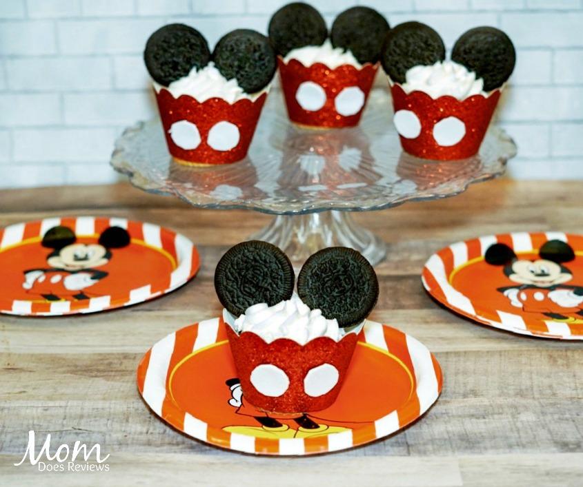 Mickey Mouse Cupcake Tutorial