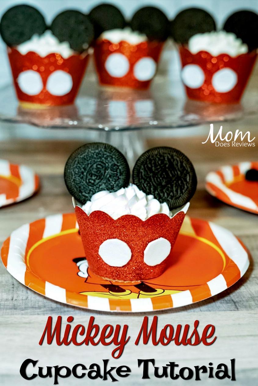 Mickey Mouse Cupcake Tutorial!