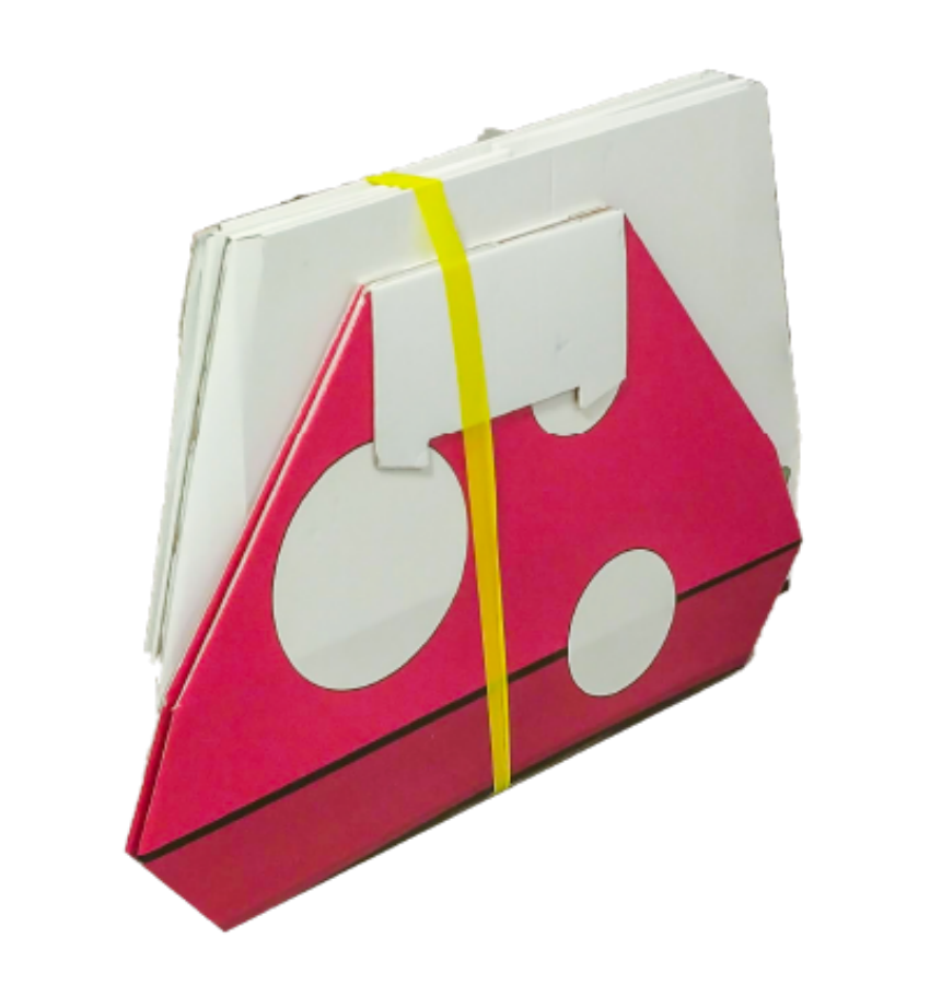Foldable Cardboard Toys From POPIN playgrounds