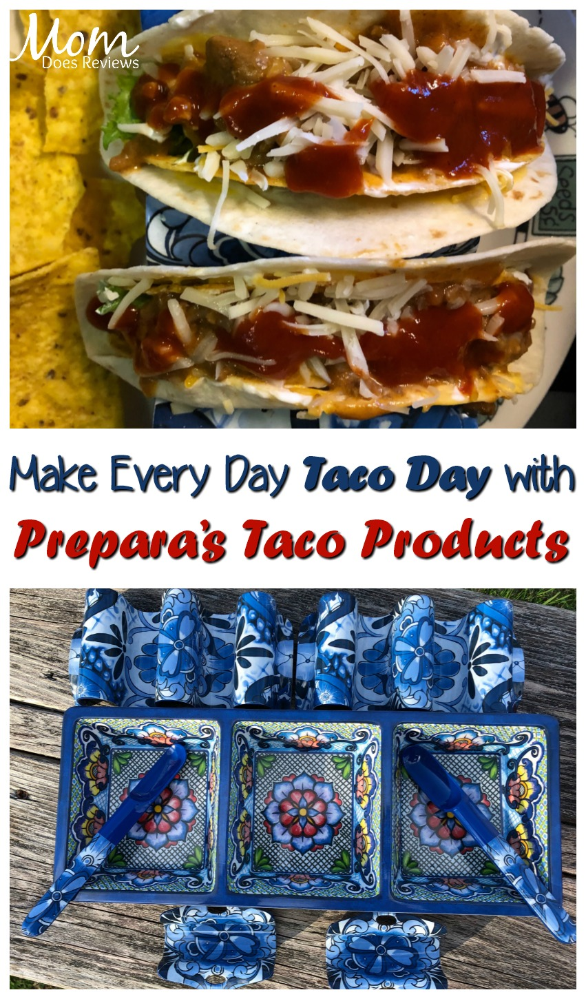 Every Day is Taco Day with Prepara's Taco Accessories #GiftsforMom19 #tacos #tacotuesday #food #foodie