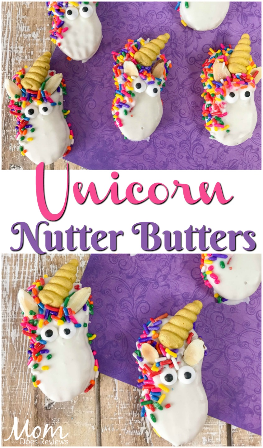 Unicorn Decorated Nutter Butter #cookies #unicorns #nutterbutters #decorating