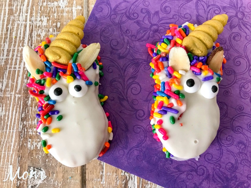 Unicorn Decorated Nutter Butter