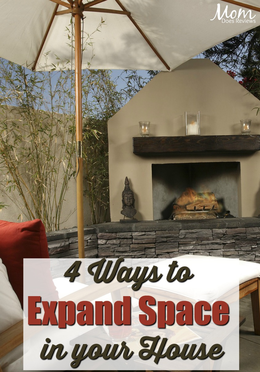 Outgrowing Your Home? 4 Ways to Expand Space in your House #home #homeandliving #outdoorspace