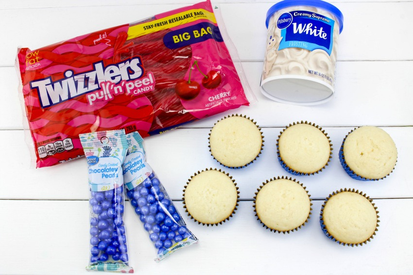 American Flag Cupcakes Ingredients