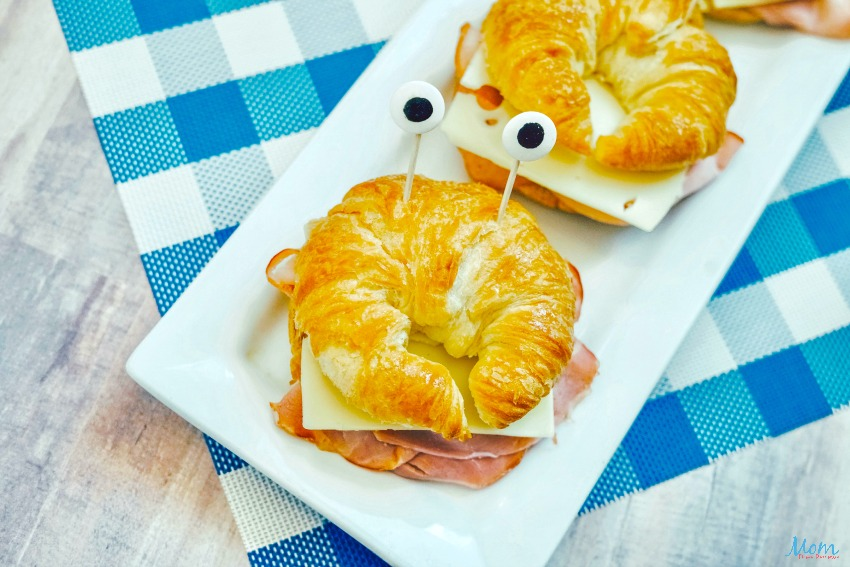 Crab Sandwiches are perfect for pairing with the Little Mermaid Movie for family night!