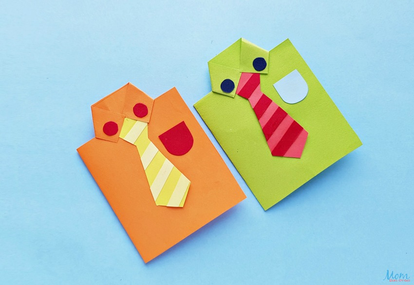Father's Day Shirt Card Craft