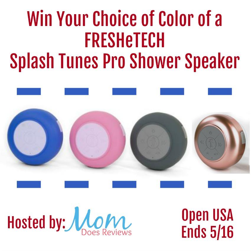 Win FresheTech Splash Tunes Pro Open to USA, ends 5/16