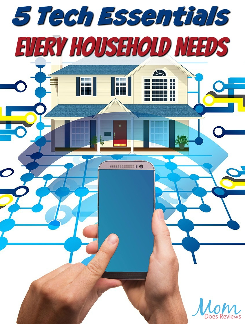 It's Electric! 5 Tech Essentials Every Household Needs #Technology #home #smarthome