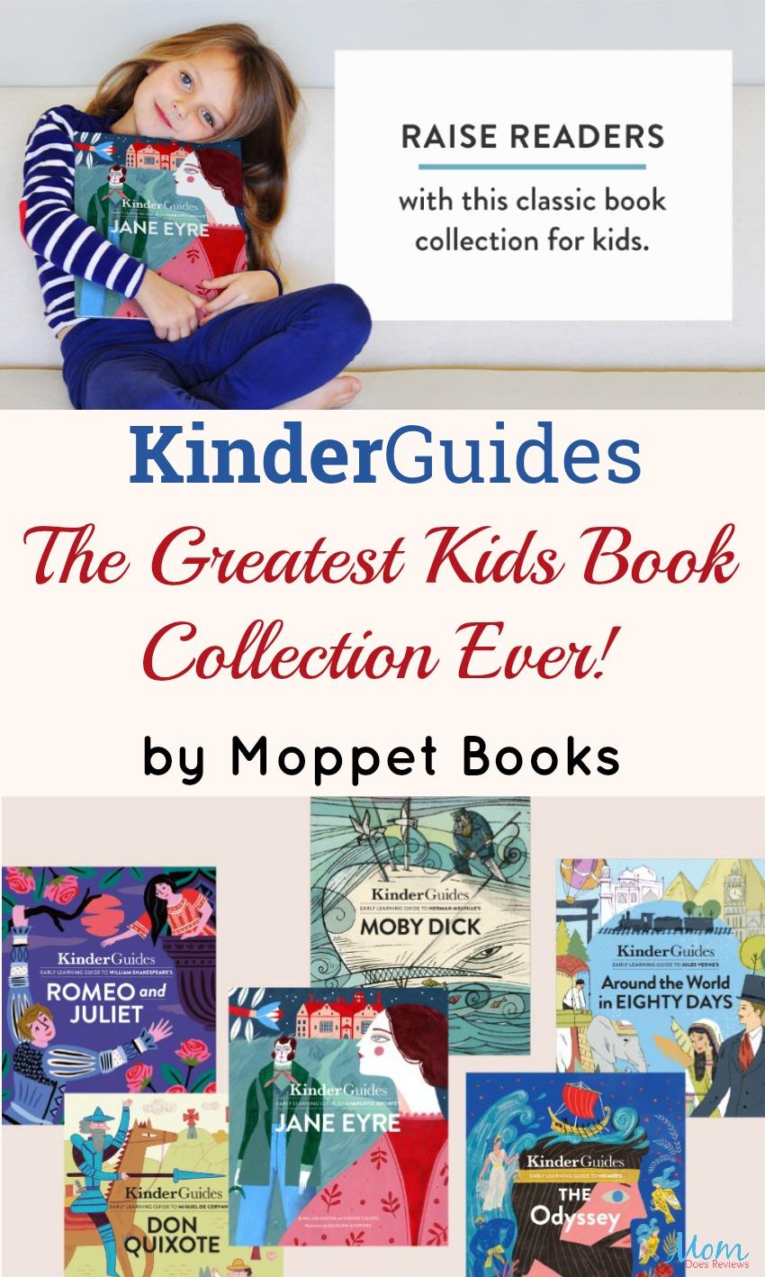 "KinderGuides: ""The Greatest Kids Book Collection Ever"" #Kickstarter #AD"