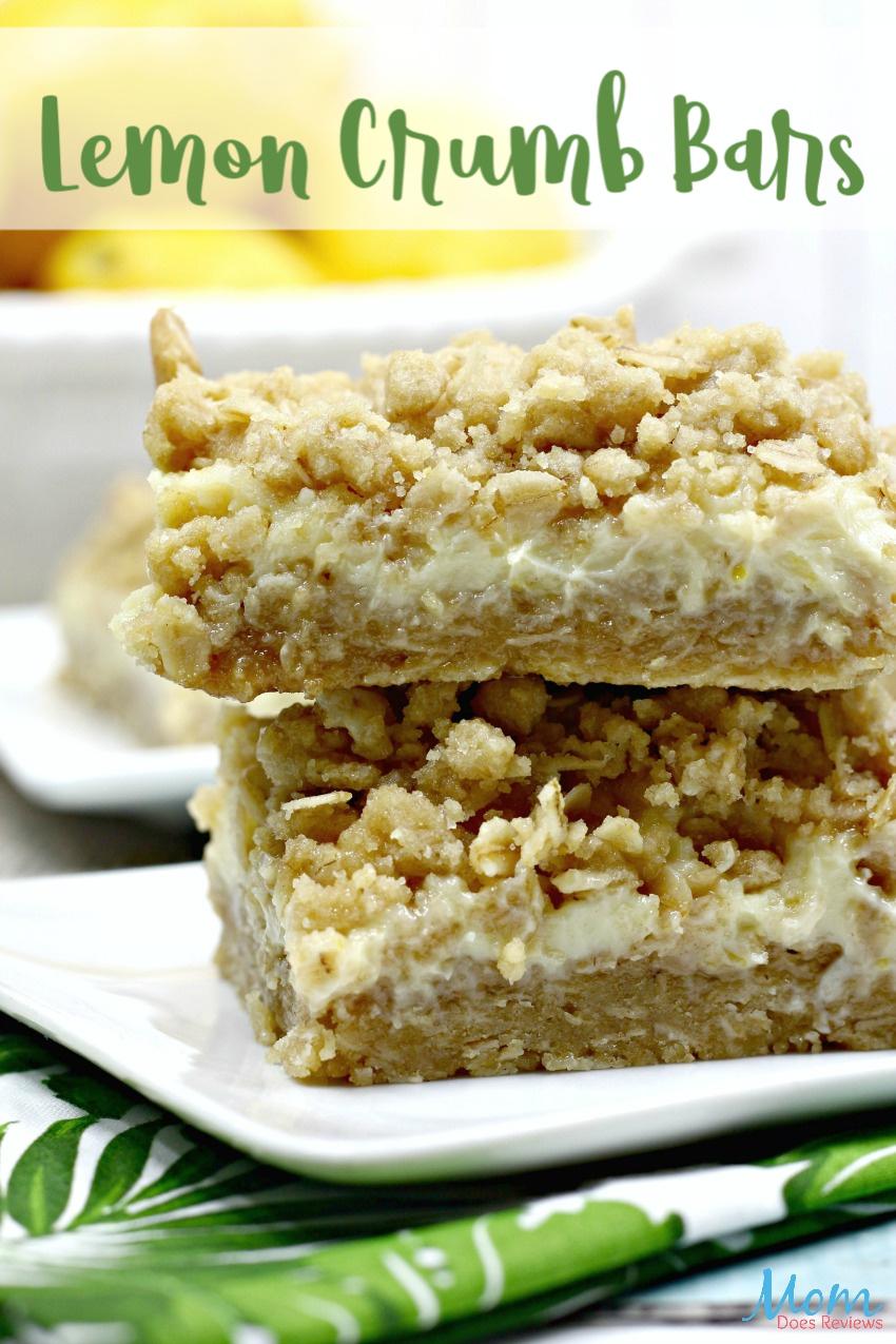 Lemon Crumb Bars Recipe #food #foodie #desserts #lemon #yummy