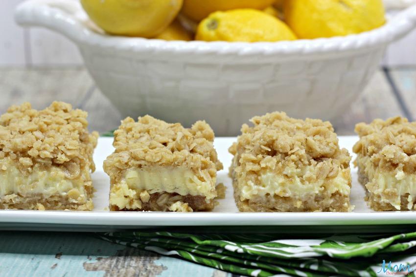 Lemon Crumb Bars Recipe