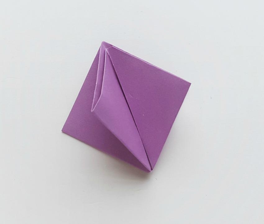 Origami Tulips process