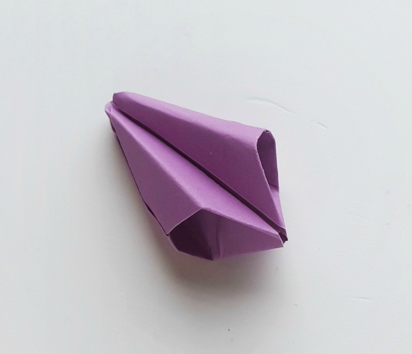 Origami Tulips process