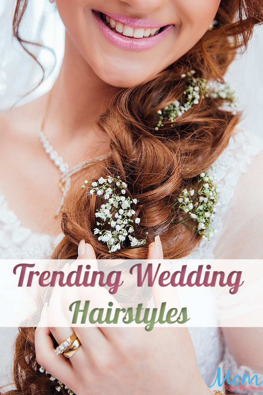 Trending Wedding Hairstyles You'll Love #wedding #brides #beauty #hairstyles