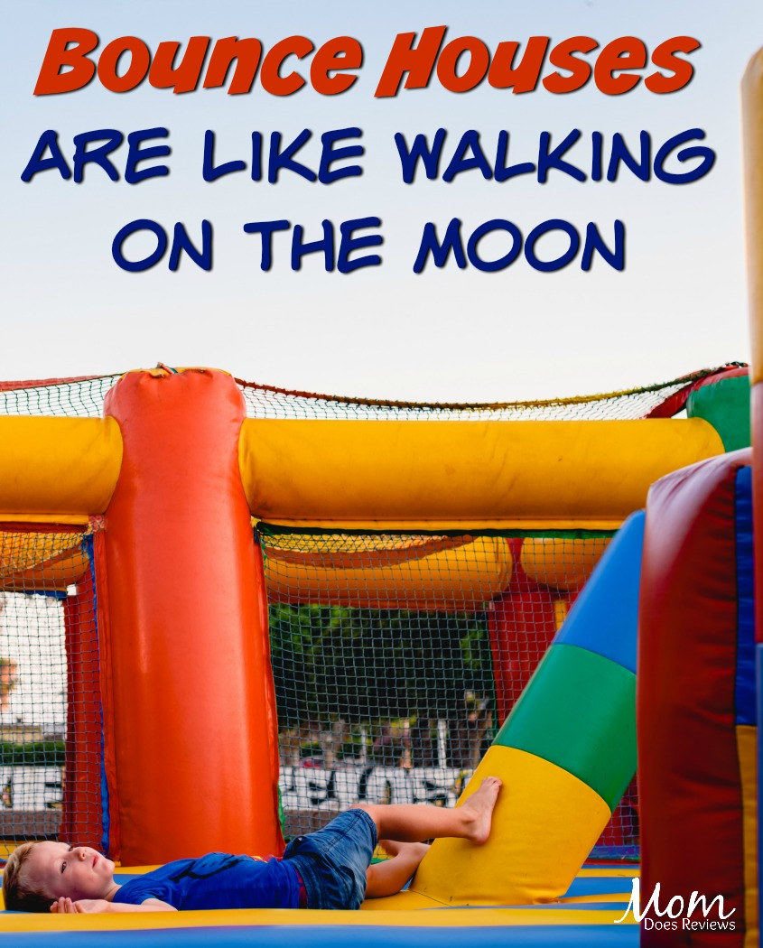 Walking on the Moon is a Cakewalk for Children with Moonwalk Bounce Houses #FUN #funstuff #kids #family #bounce