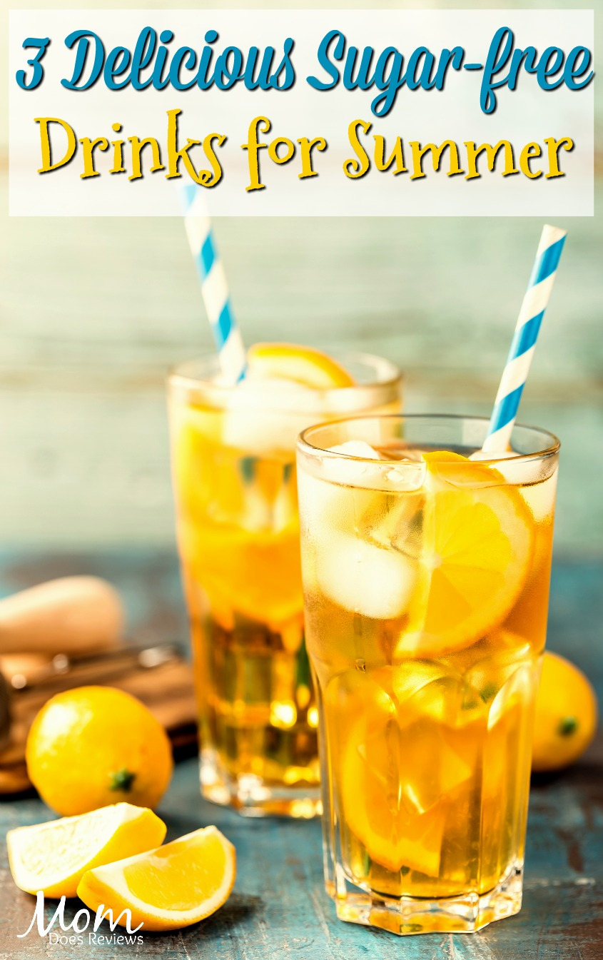 3 Delicious Sugar-free Soda Alternatives to Keep You Cool This Summer #drinks #smoothies #tea #lemonade #summer #beverages