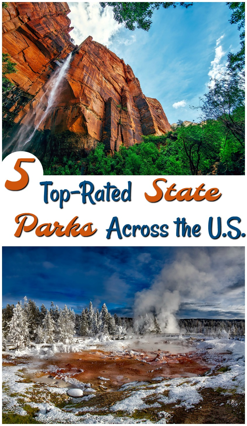 5 Top-Rated State Parks Across the U.S. #travel #vacation #destination #familytravel #stateparks