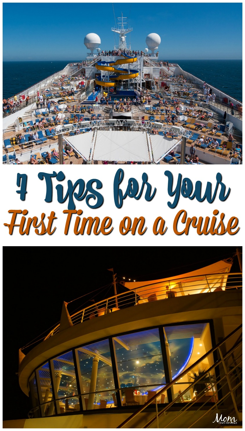 7 Tips for Your First Time on a Cruise #travel #cruise #vacation #destination
