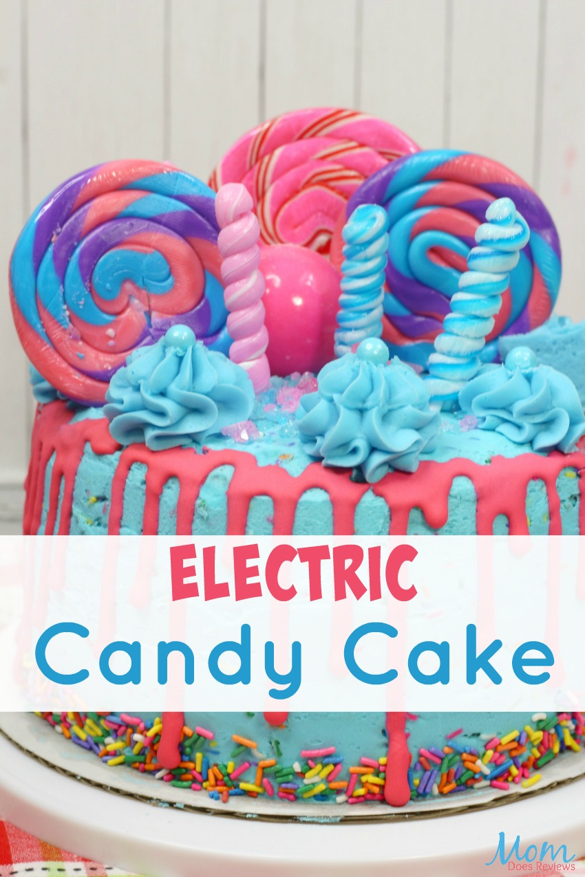 Electric Candy Cake Recipe