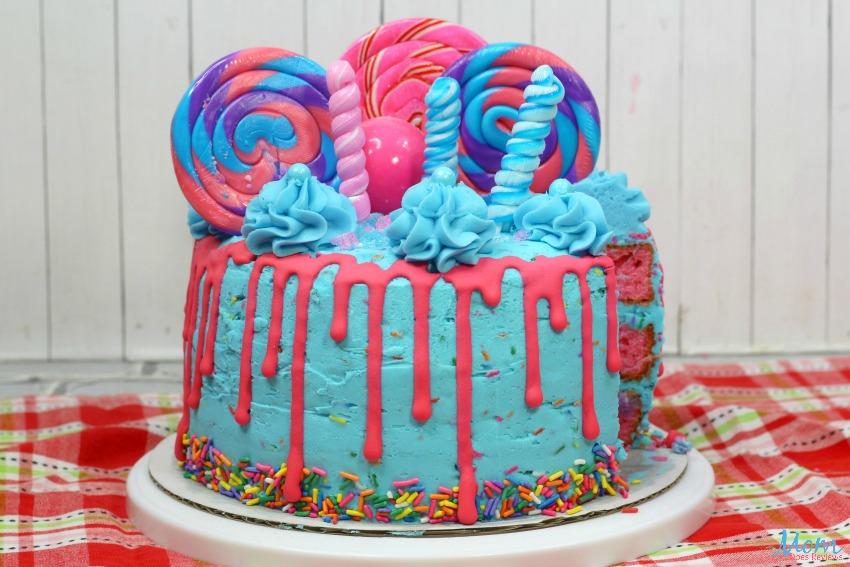 Electric Candy Cake Recipe