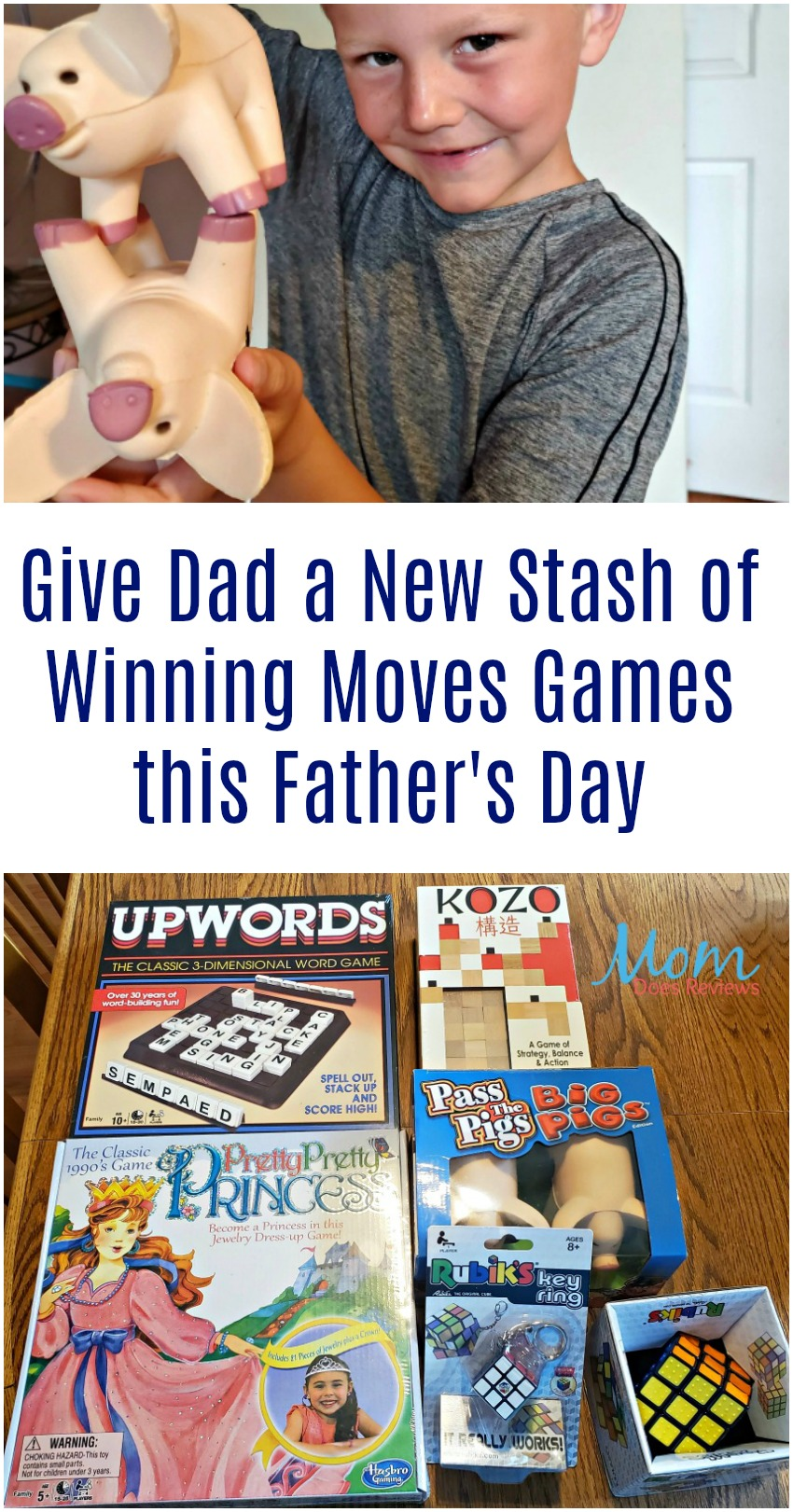Give Dad a New Stash of Winning Moves Games this Father's Day