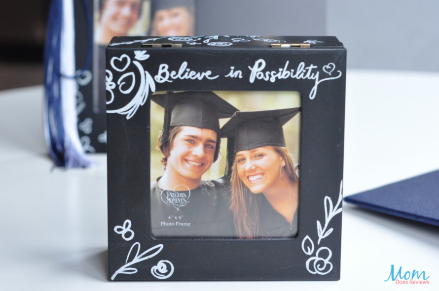 "Precious Moments Believe In Possibility"" 4 x 4 Photo Keepsake Box"