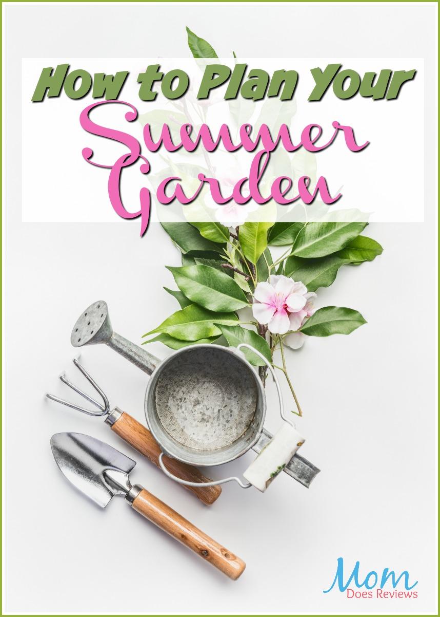 How to Plan your Summer Garden #gardening #summer #veggies #flowers #diy
