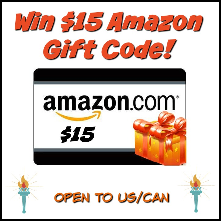 #Win $15 Amazon Gift Code! US/CAN ends 7/15 #giveawayhop