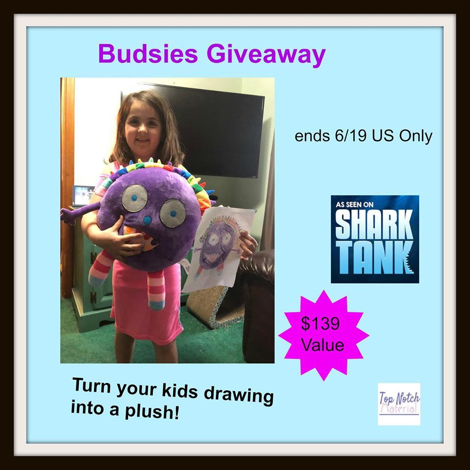 #Win a Budsie- Kid-Designed Stuffed Animal! $139 arv US ends 6/19
