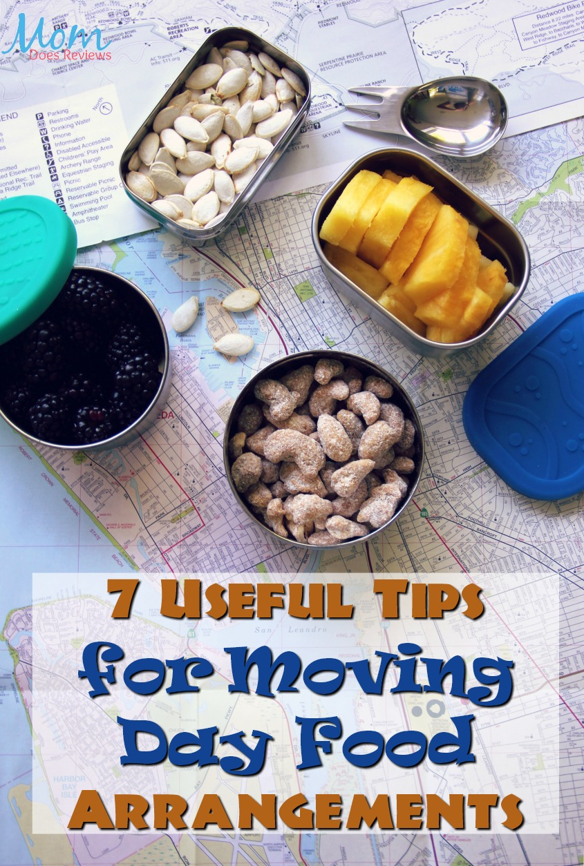 7 Useful Tips for Moving Day Food Arrangements