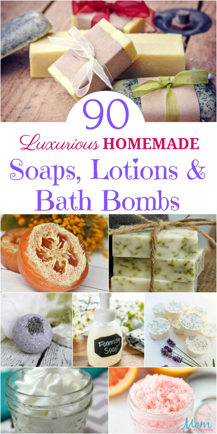 90 Luxurious Homemade Soaps, Lotions, and Bath Bombs #Diy #Homemade #soaps #lotions #bathbombs