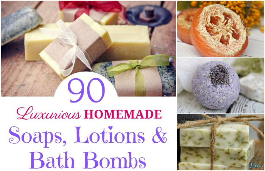 Homemade Soaps, Lotions & Bath Bombs