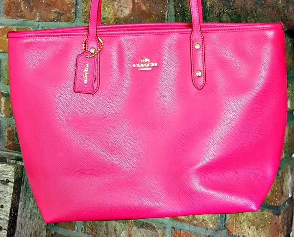 Win a Hot Pink Coach Tote Open to USA, ends 7/31