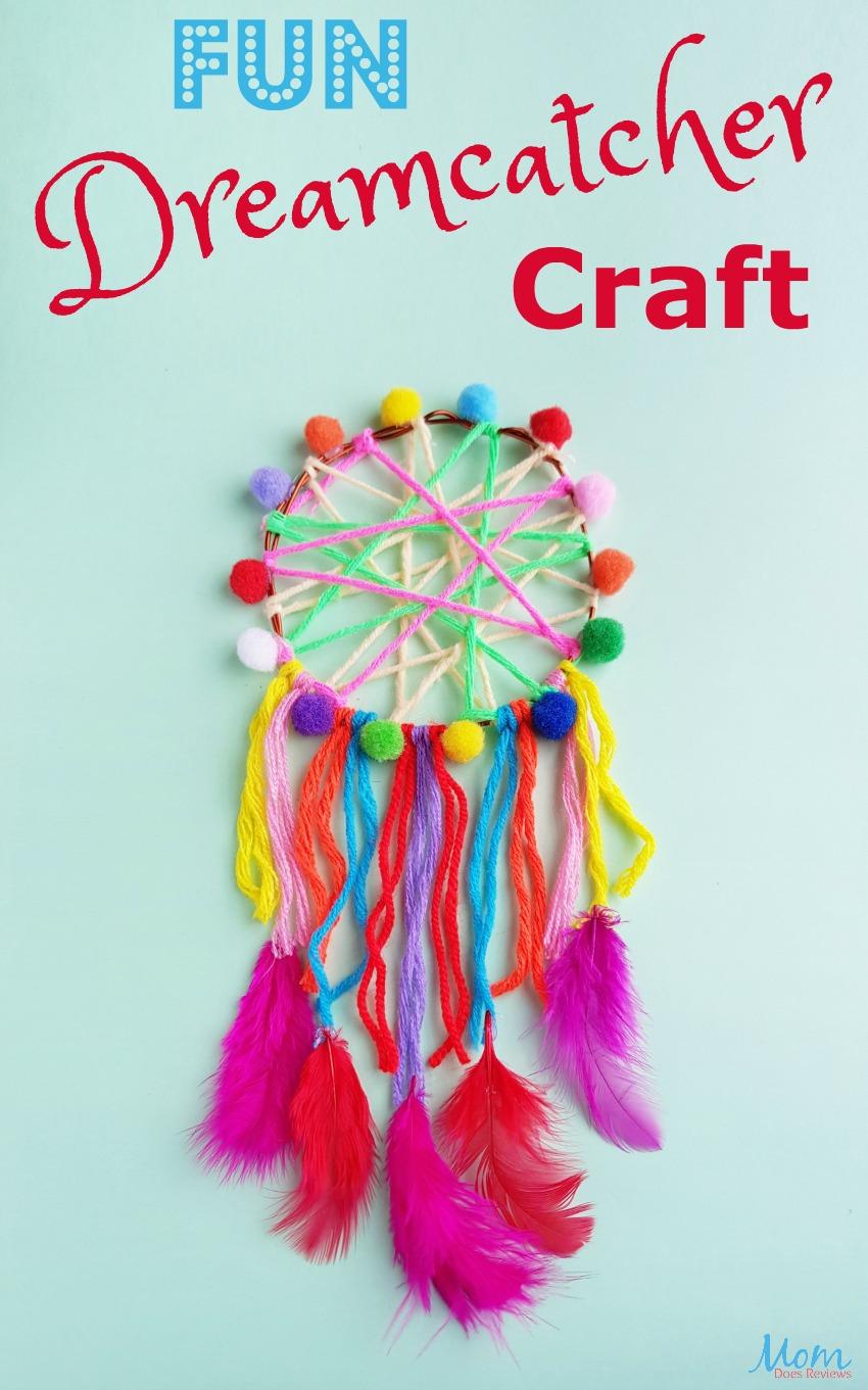 Fun Dreamcatcher Craft #diy #crafts #funstuff #dreamcatcher