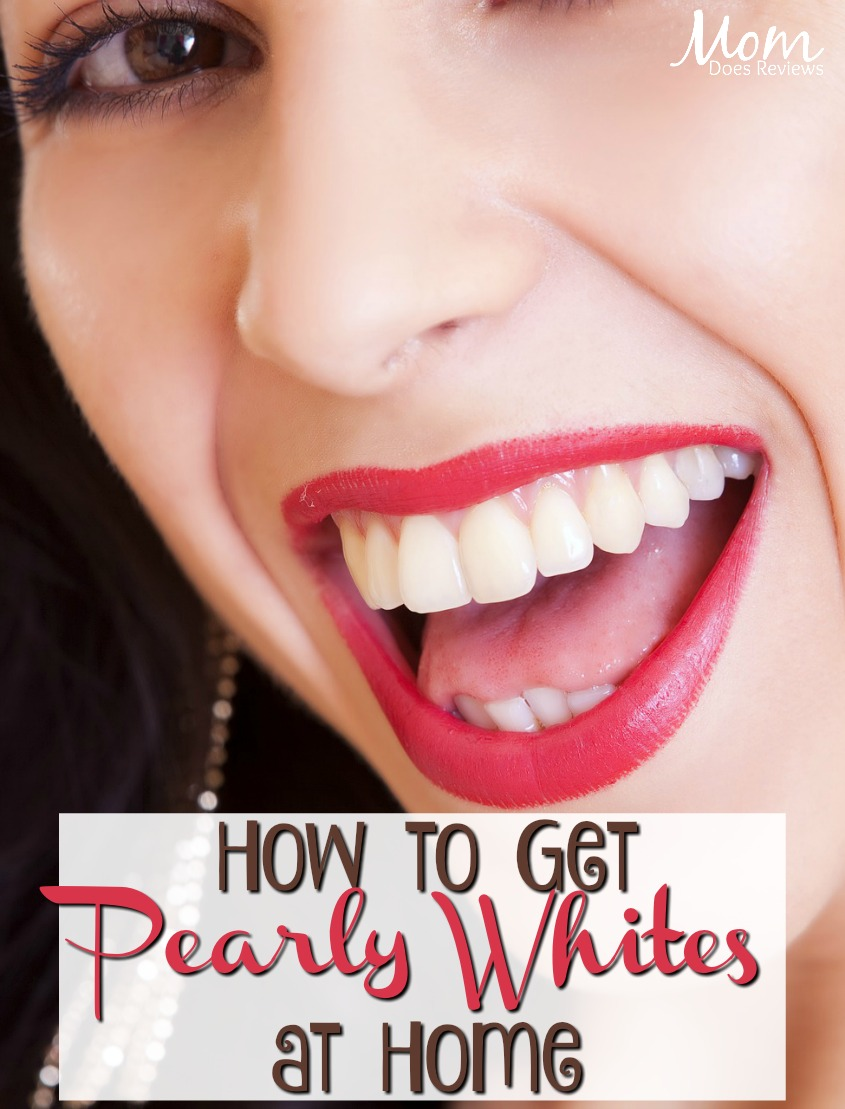 How to Achieve Pearly Whites in the Comfort of Your Own Home