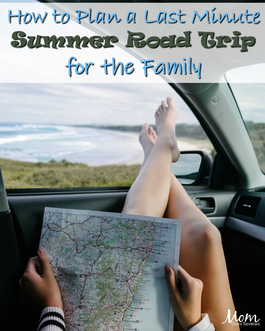 How to Plan a Last Minute Summer Road Trip for the Family #travel #family #roadtrip
