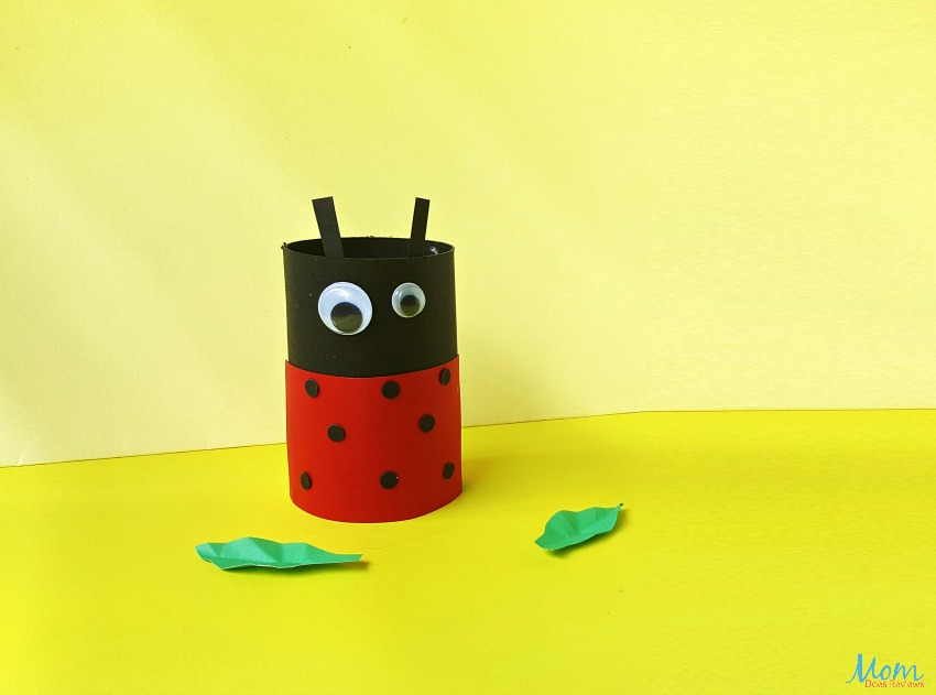 Ladybug Toilet Paper Roll Craft for Kids