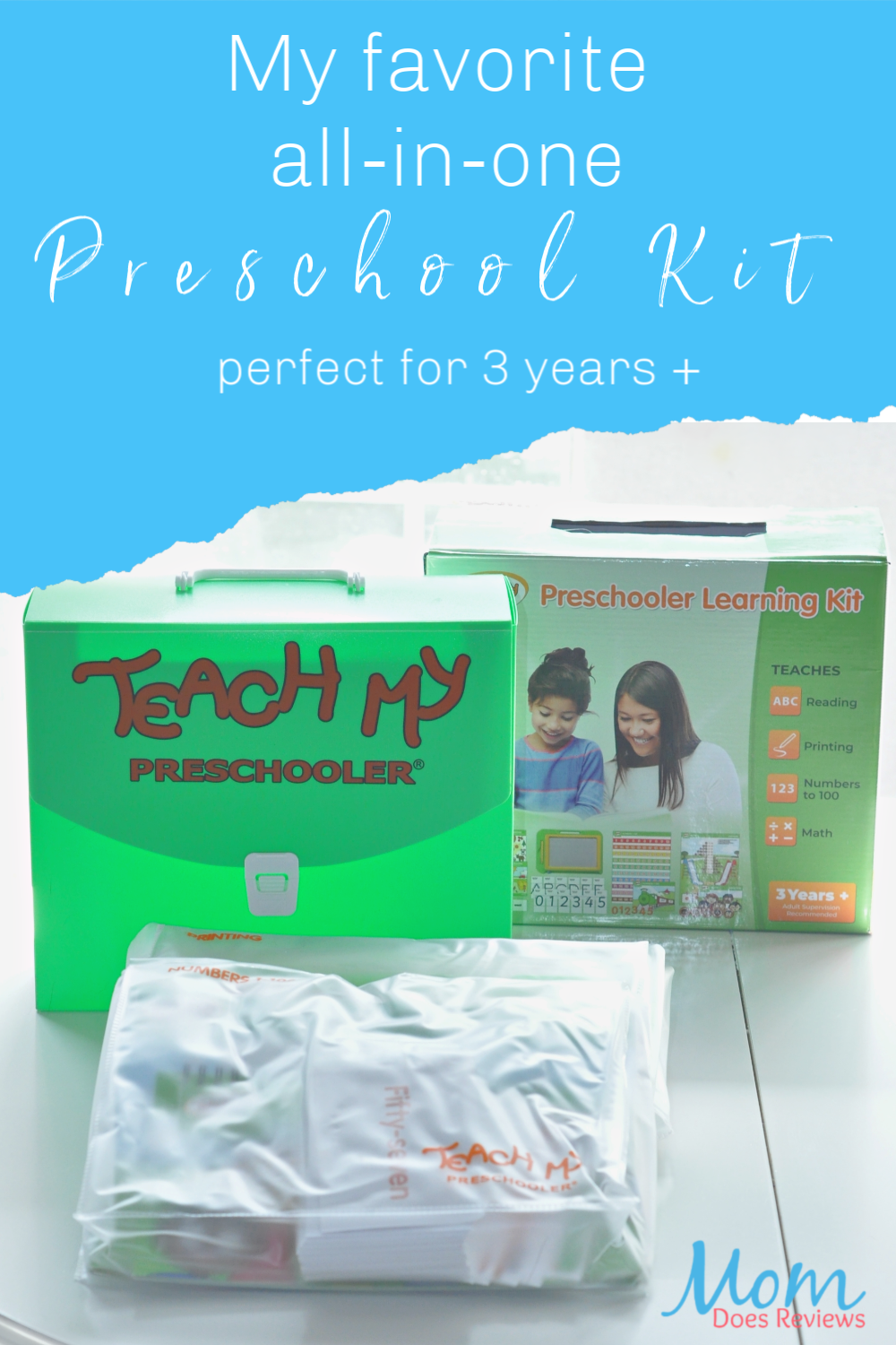 My favorite all-in-one preschool kit perfect for 3 years +