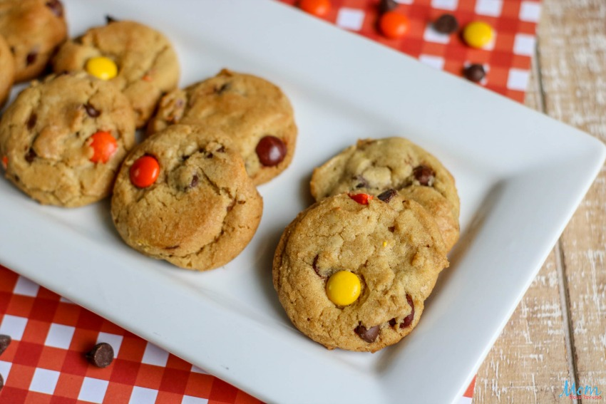 Reese's Pieces Chocolate Chip Cookies Recipe