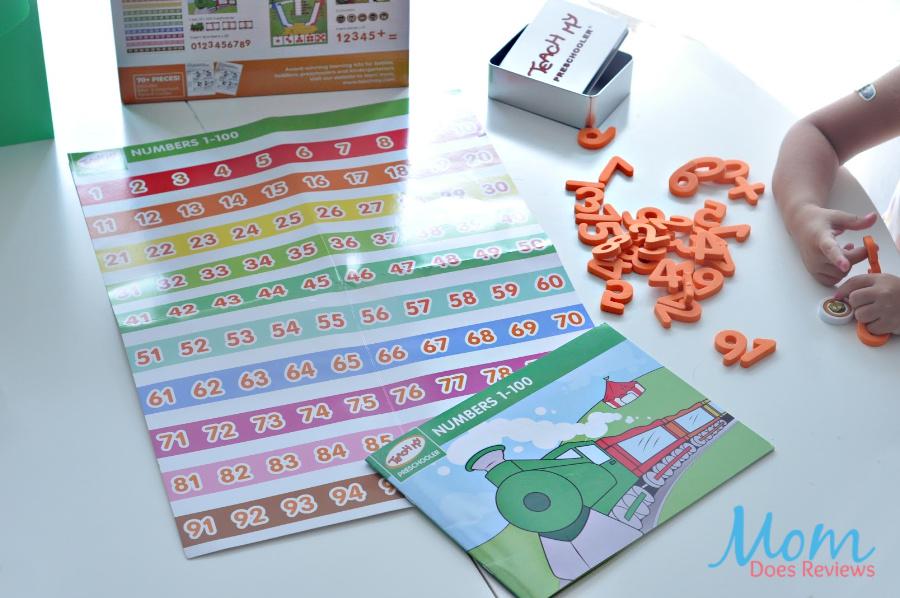 counting numbers teach my preschooler