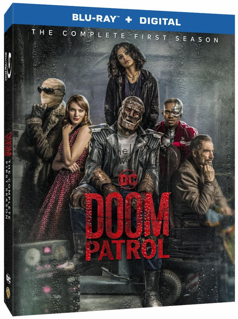 Watch the Misfit DC Super Heroes: Doom Patrol: The Complete First Season on DVD Oct 1st #DCUDoomPatrol