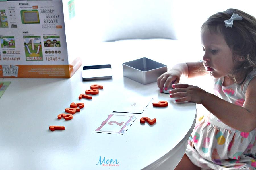 using numbers with Teach My Preschooler