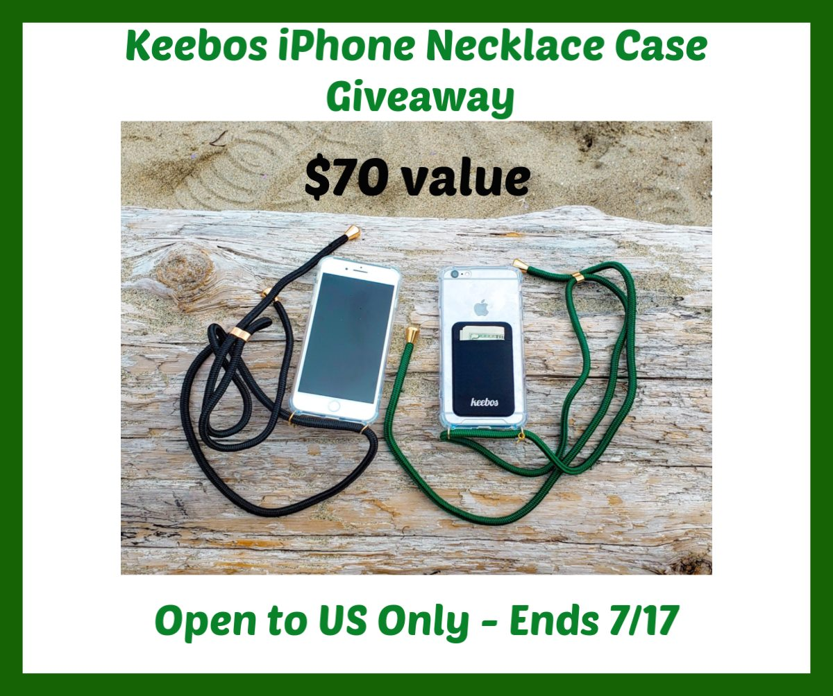 #Win 2 Keebos iPhone Necklace Cases - $70 arv, US ends 7/17
