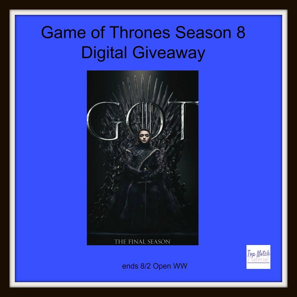 #Win GOT digital code season 8