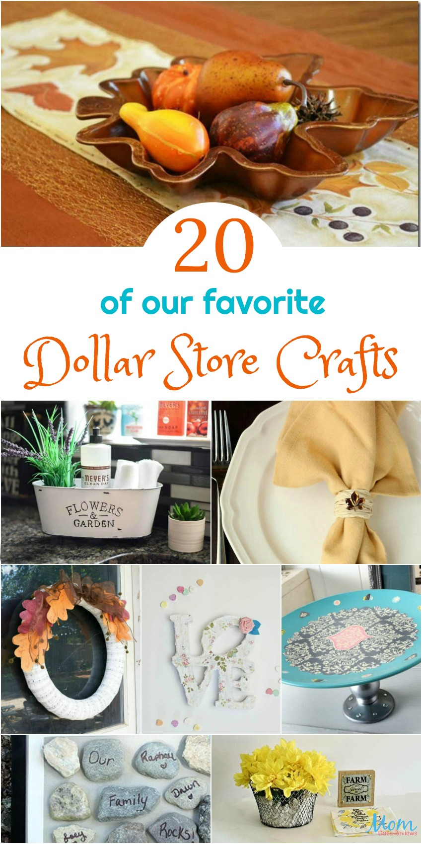 20 of our Favorite Dollar Store Crafts You Have to Make #crafts #dollarstorecrafts #diy