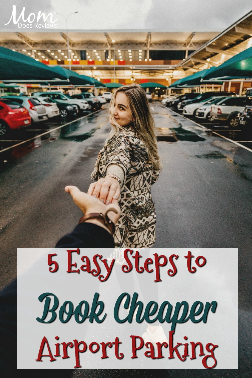 5 Easy Steps to Book A Cheaper Airport Parking Option #travel #parking #airport