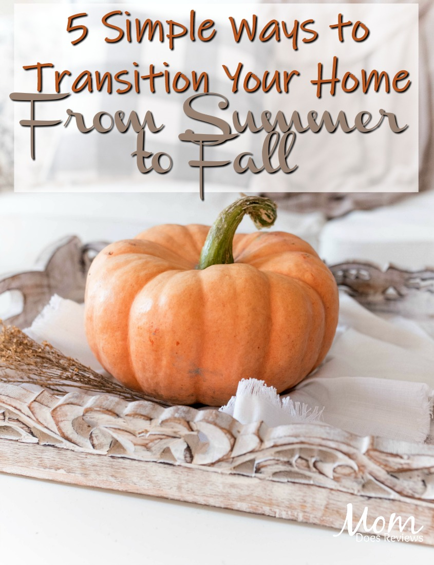 5 Simple Ways to Transition Your Home From Summer to Fall #home #decor #fall