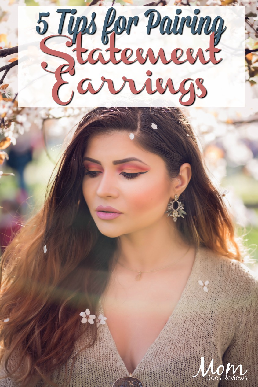 5 Tips for Pairing Statement Earrings #fashion #jewelry #earrings