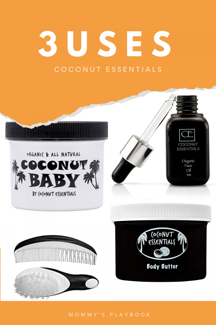 Coconut Essentials Mom & Baby Prize Pack (APV $75+) 3 Sues for Conconut Essentials