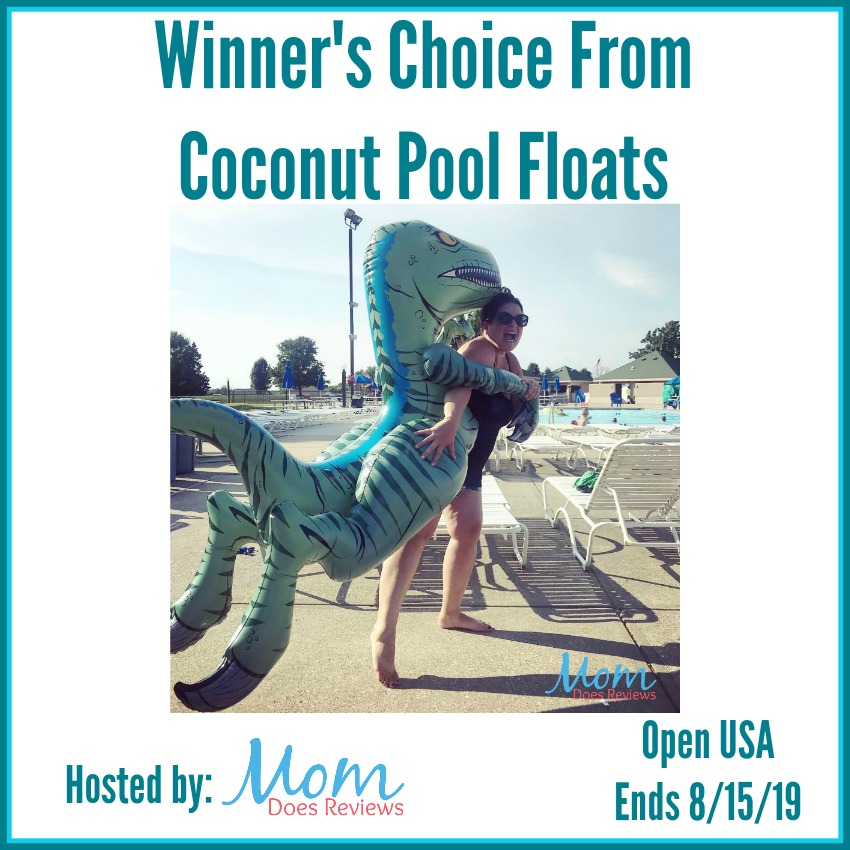Winner's Choice From Coconut Pool Floats